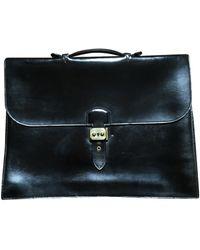 Hermès Sac à dépèches Leder Taschen - Schwarz