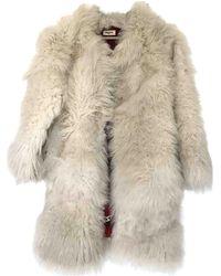 Zadig & Voltaire Fall Winter 2019 Faux Fur Coat - Multicolor