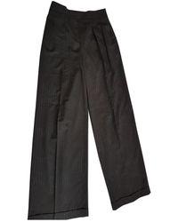 Michael Kors Wool Trousers - Black