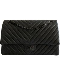 Chanel Bolso 2.55 de Cuero - Negro