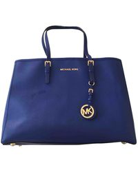 Michael Kors Jet Set Shopper - Blau
