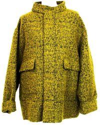 Marni - Yellow Wool Jacket - Lyst