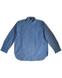 Louis Vuitton Blue Cotton Top