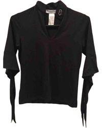 Dior Top en Coton Noir