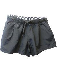 Moschino Shorts Polyester Schwarz