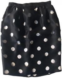 Prabal Gurung Silk Mid-length Skirt - Black