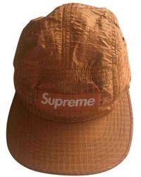 Supreme Hat - Orange