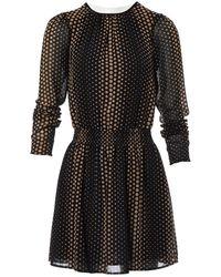 Michael Kors - Black Polyester Dress - Lyst