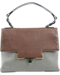 Lanvin - Pre-owned Canvas Handbag - Lyst