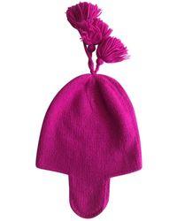 JOSEPH Wool Beanie - Pink