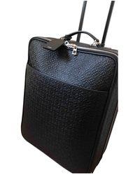 Loewe Leather Bag - Black