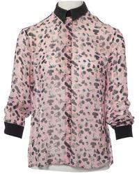 Antipodium Pink Silk Top