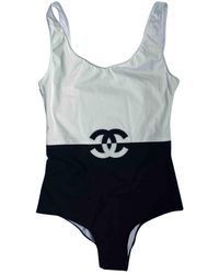Chanel One-piece Swimsuit - Black