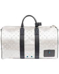 Louis Vuitton Bolso Keepall de Lona - Azul