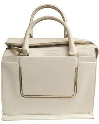 Roger Vivier Leather Handbag - White