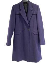 Roland Mouret Wool Coat - Multicolor