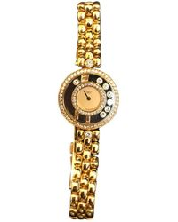 Chopard Reloj en oro amarillo dorado Happy Diamonds - Metálico
