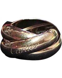 Cartier Trinity Weißgold Ringe - Mettallic