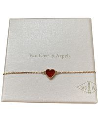 Van Cleef & Arpels Red Chain Bracelet