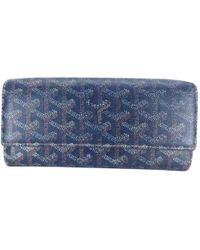 Goyard - Cloth Wallet - Lyst