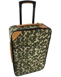 Louis Vuitton Borsa da viaggio in tela verde Pegase