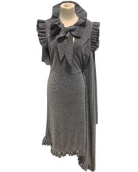 Vetements - Pre-owned Grey Synthetic Dresses - Lyst