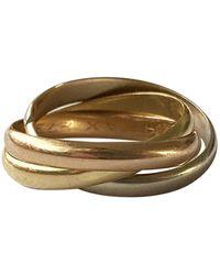 Cartier Trinity Gelbgold Ringe - Mettallic
