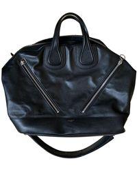 Givenchy Leder Wochenende Tasche - Schwarz