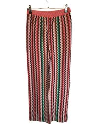 Missoni Large Trousers - Red