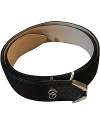 Chloé - Black Python Belts - Lyst