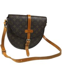 Louis Vuitton - Pre-owned Chantilly Cloth Crossbody Bag - Lyst