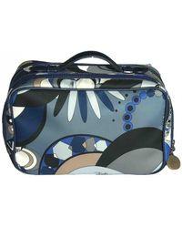 Emilio Pucci Cloth Travel Bag - Multicolor