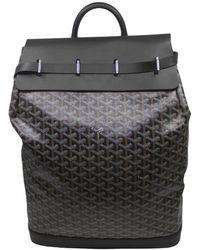 Goyard Steamer Cloth Travel Bag - Black