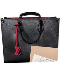 Louis Vuitton Borsa Onthego in Pelle - Nero