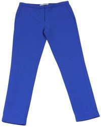 Dion Lee - Blue Wool Trousers - Lyst