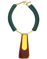 Marni Necklace - Green