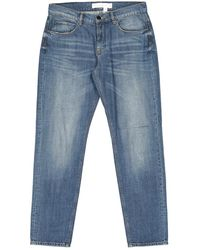 Victoria Beckham Blue Cotton - Elasthane Jeans
