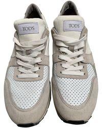 Tod's Sneakers in Pelle - Multicolore