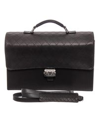 Chanel Leather Satchel - Black