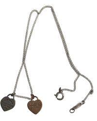 Tiffany & Co. Collier Return to Tiffany in Argento - Metallizzato