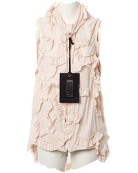 Moncler - Pink Synthetic Jacket - Lyst