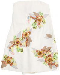 Chloé - White Silk Dress - Lyst
