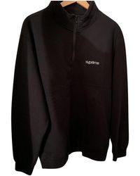 Supreme Black Cotton Knitwear & Sweatshirts