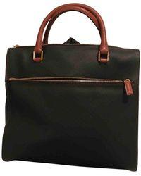 Bottega Veneta Vintage Black Cloth Handbag