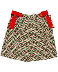 Givenchy - Multicolour Cotton Shorts - Lyst