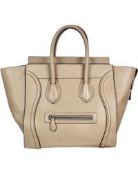 Céline - Luggage Phantom Leather Handbag - Lyst