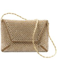 Stuart Weitzman - Pre-owned Gold Glitter Clutch Bags - Lyst