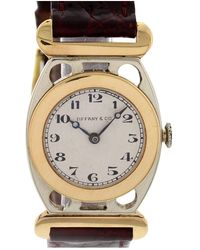 Tiffany & Co. Silver White Gold Watch - Metallic
