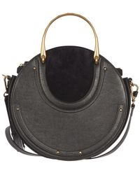 Chloé - Pixie Blue Leather Handbag - Lyst