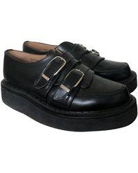 Comme des Garçons Black Leather Lace Ups